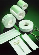 The Sterile Supply Cyle - Packaging: Laminated film pouches in various sizes and on roll