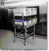 The Sterile Supply Cyle - Packaging: Loading a sterilizer with containers